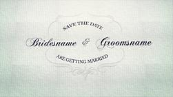 Make a Save the date slideshow