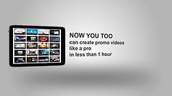 Make a Tablet app commercial